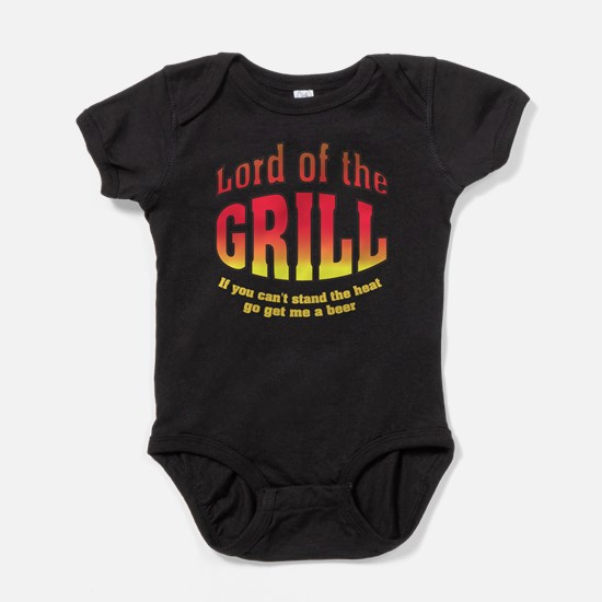 Lord of the Grill Baby Bodysuit