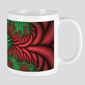 Red/Green Fractal #1 11oz. Mug