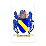 Braunfeld Sticker (Rectangle)