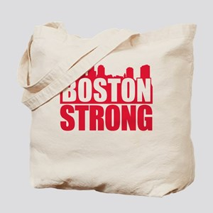 Boston Strong Red Tote Bag