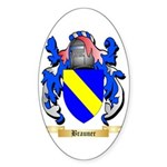 Brauner Sticker (Oval 50 pk)