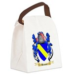 Brauner Canvas Lunch Bag