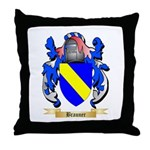 Brauner Throw Pillow