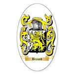 Braund Sticker (Oval 50 pk)