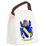 Braun Canvas Lunch Bag