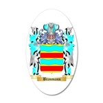 Braumann 20x12 Oval Wall Decal