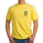Brauermann Yellow T-Shirt