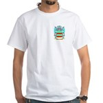 Brauermann White T-Shirt
