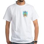 Brauer White T-Shirt