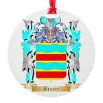 Brauer Round Ornament