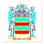 Brauer Square Car Magnet 3