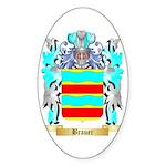 Brauer Sticker (Oval 50 pk)
