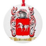 Braudel Round Ornament