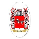 Braudel Sticker (Oval)