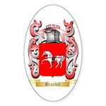 Braudel Sticker (Oval 10 pk)