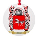 Braud Round Ornament