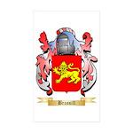 Brassill Sticker (Rectangle 50 pk)