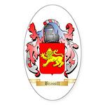 Brassill Sticker (Oval 50 pk)