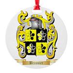 Brassier Round Ornament