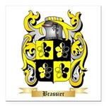 Brassier Square Car Magnet 3