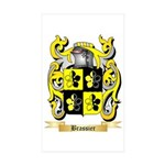 Brassier Sticker (Rectangle 50 pk)