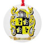Brasser Round Ornament