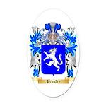 Brasley Oval Car Magnet
