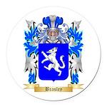 Brasley Round Car Magnet