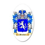 Brasley 35x21 Oval Wall Decal
