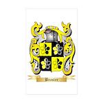 Brasier Sticker (Rectangle 50 pk)