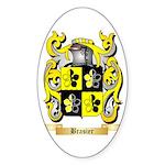 Brasier Sticker (Oval 50 pk)