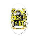 Brasier 35x21 Oval Wall Decal