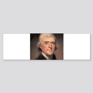 Thomas Jefferson Sticker (Bumper)