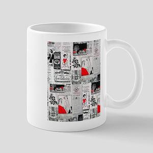newspaper vintage Mug