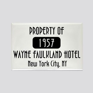 Property of the Wayne Faulkland Hotel Rectangle Ma
