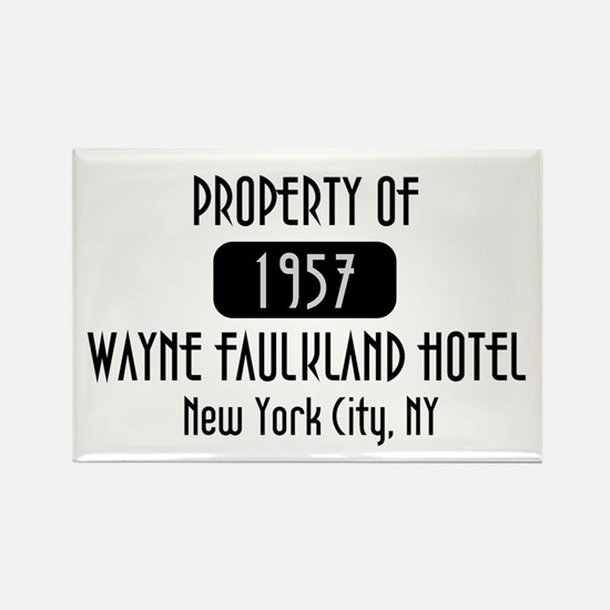 Property of the Wayne Faulkland Hotel Rectangle Ma