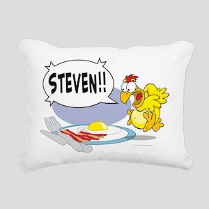 Steven the Egg Rectangular Canvas Pillow