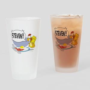 Steven the Egg Drinking Glass