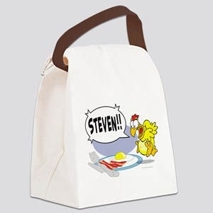 Steven the Egg Canvas Lunch Bag