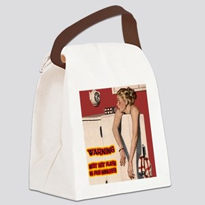 Menopause Humor Canvas Lunch Bag