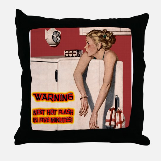 Menopause Humor Throw Pillow