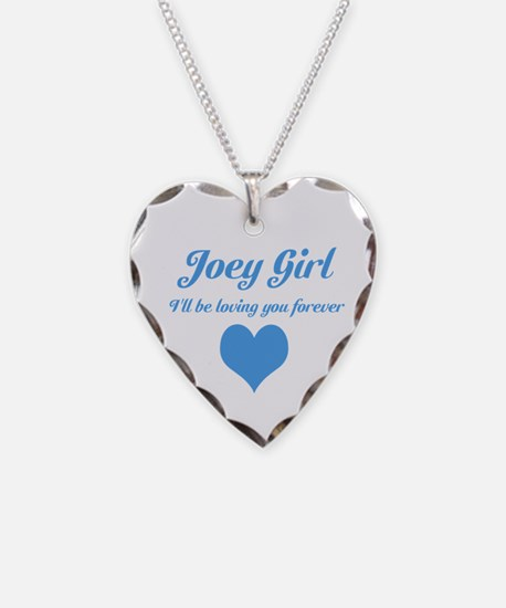 """""""Joey Girl"""" Necklace Heart Charm"""