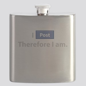 I Post, Therefore I Am Flask