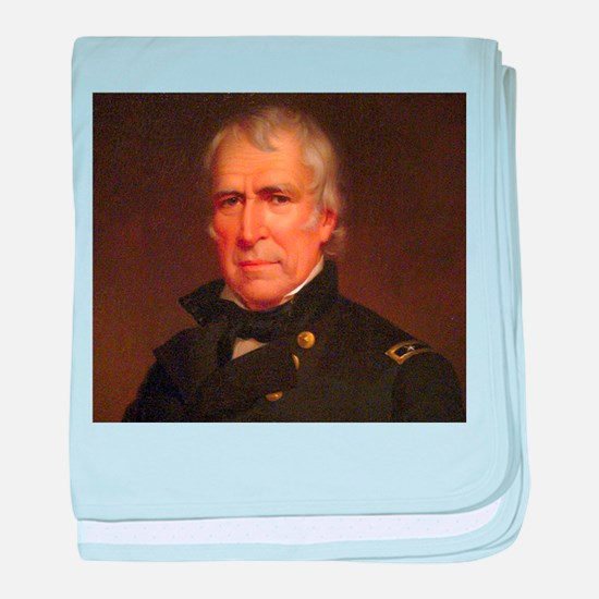 Zachary Taylor Infant Blanket