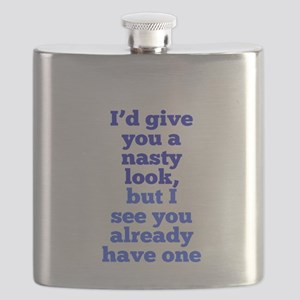 Nasty Look Flask