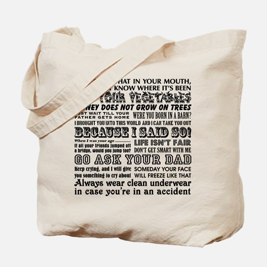 Funny Mother's Day Tote Bag