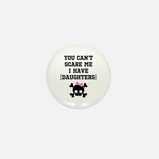 Funny Girl's Parent Mini Button
