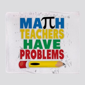 Math Teachers Have Problems Throw Blanket