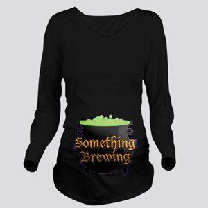 Halloween Something Long Sleeve Maternity T-Shirt