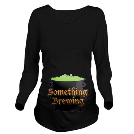 Halloween Something Long Sleeve Maternity T-Shirt